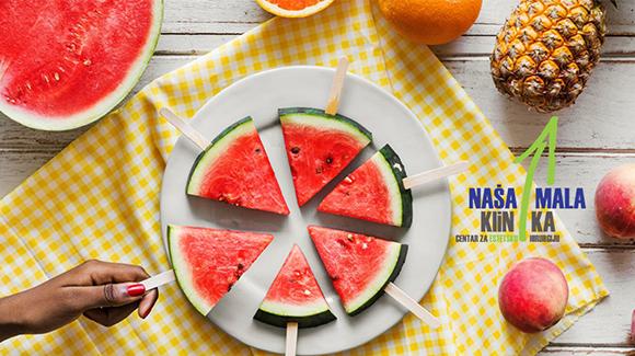 Tokom ljeta važno je unositi dosta tečnosti ali i namirnice koje sadrže vodu-580